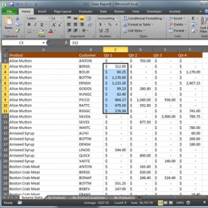 Quick Tip - Generate a Sum or Average in Excel 2010