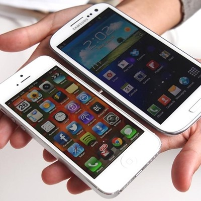 The Samsung Galaxy S3 vs. The iPhone 5
