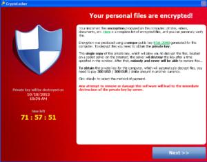 Cryptolocker Screen