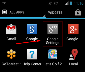1 google settings