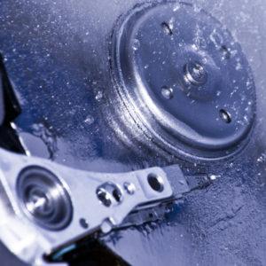 Frozen Hard Drive | Quikteks